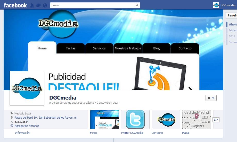 DGCmedia en Facebook