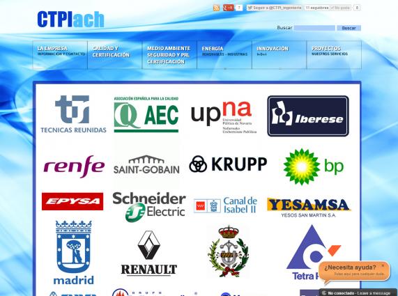 Portfolio de la página web