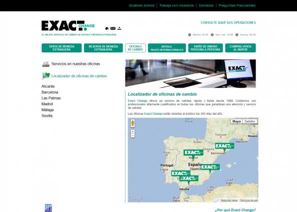 Google maps con las oficinas de la empresa